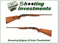 Browning 57 Belgium 22 auto Collector Thumbwheel!