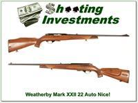 Weatherby Mark XXII 22 Auto