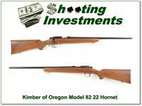 Kimber of Oregon Model 82 22 Hornet Exc Cond!