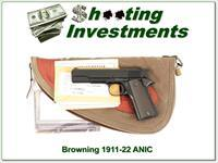 Browning 1911 22 100th Anniversary NIB