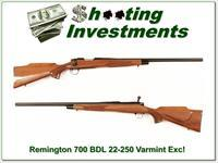 Remington 700 BDL Varmint Special in 22-250 Rem Heavy Barrel