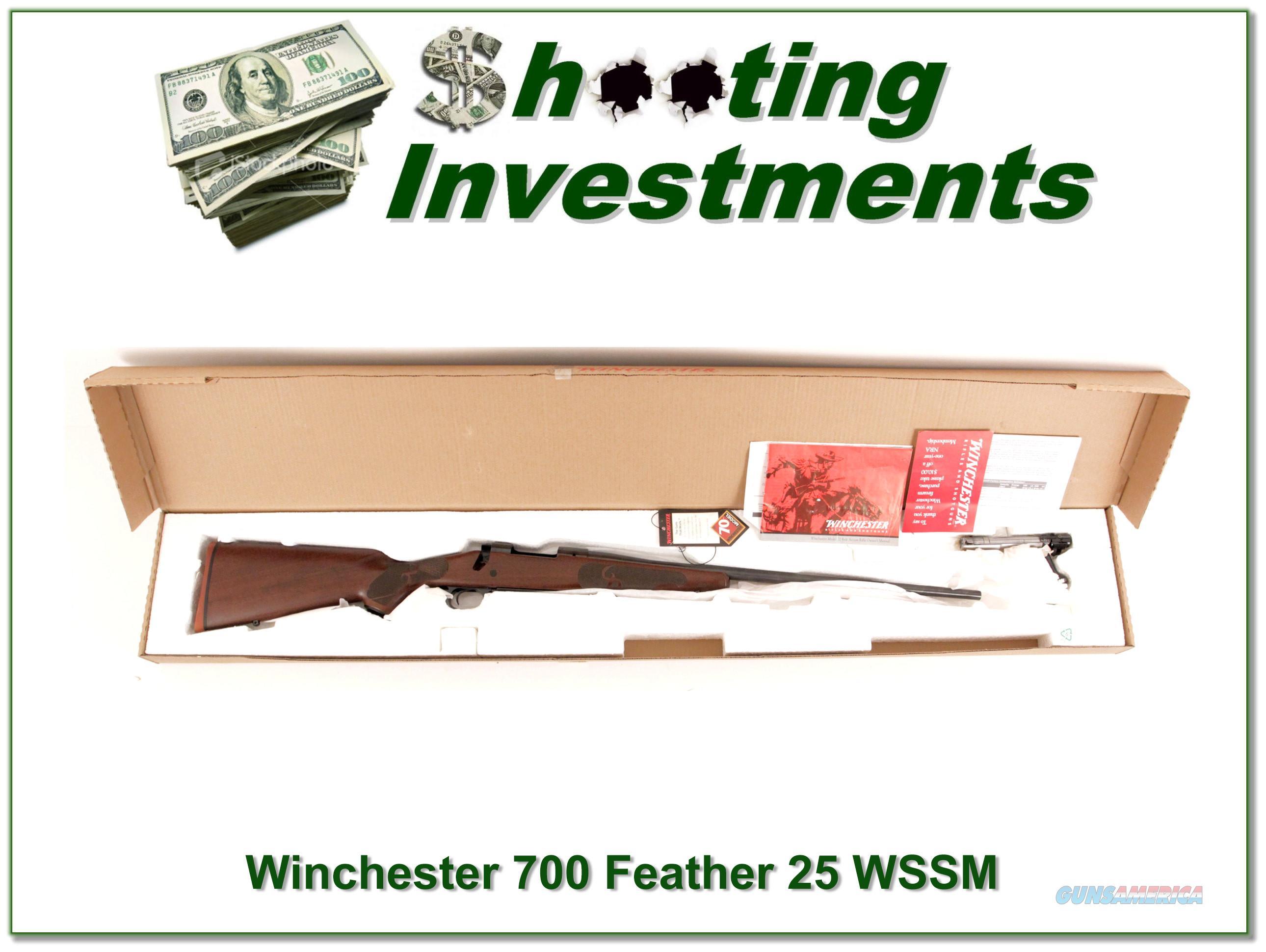 Winchester Model 70 Featherweight 25 Wssm Anic Guns S Modern Bolt
