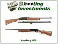 Mossberg 9200 12 Gauge 2 barrels Slug and VR