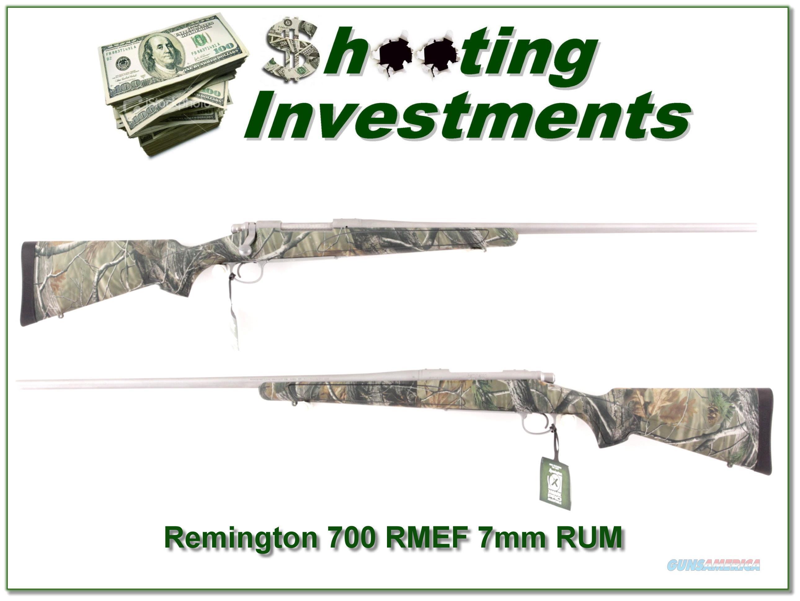 Remington 700 SS Rockly Mountain Elk 7mm RUM