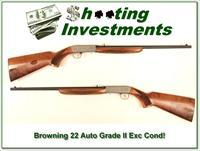 Browning 22 Auto Grade II made in 1989