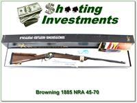Browning 1885 NRA 45-70 28in NIB!