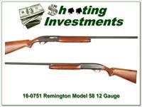 Remington Model 58 12 Gauge nice!