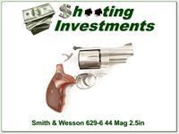 Smith & Wesson 629-6 3 in 44 Magnum Stainless
