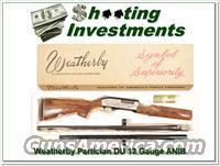 Weatherby Partician 1979 Ducks unlimited in box