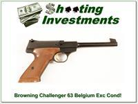 Browning FN Challenger 63 Belgium Exc Cond!
