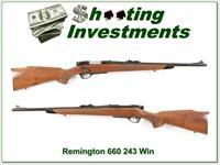 Remington 660 243 Winchester Exc Cond!