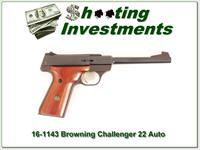 Browning Challenger 22 Auto USA Made Exc Cond