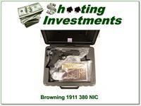 Browning 1911-380 Black Label 380 ACP NIB