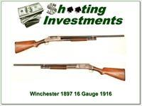 Winchester 1897 16 Gauge made in 1916!