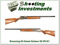 Browning A5 Sweet Sixteen 26in IC VR 59 Belgium collector!