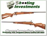 Weatherby Vanguard VGX 300 as new unfired!