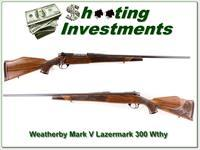 Weatherby Mark V Lazermark 5-Panel 300 collector