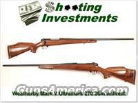 Weatherby Mark V Ultramark new and perfect with XX Wood!