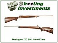 Remington 700 BDL Limited Edition Stainless Walnut 7mm