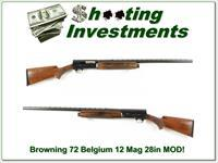 Browning A5 12 Magnum 72 Belgium 28in Modified