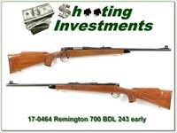 Remington 700 BDL early 243 Pressed Checkering