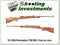 Remington 700 BDL Deluxe 7mm Rem Mag looks new!