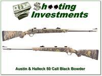 Austin & Halleck Stainless Black Powder 50 Cal