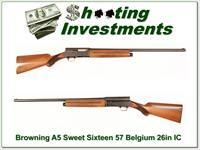 Browning A5 Sweet Sixteen 54 Belgium 26in IC!
