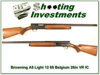 Browning A5 Light 12 69 Belgium 26 IC VR