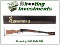 Browning 1886 45-70 NIB and perfect!