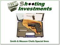 Smith & Wesson CS9 Chiefs Special 9mm in box!