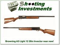 Browning A5 Light 12 near new 28in VR Invector