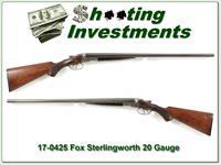 Fox Sterlingworth 20 Gauge 26in F & M
