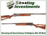 Browning A5 Sweet Sixteen 54 Belgium 28in Mod VR
