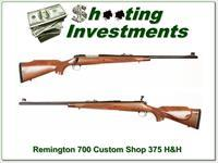 Remington 700 Custom Shop 375 H&H Mag Exc Cond!
