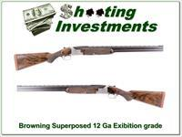 Browning Exhibition Grade 1952 Superposed Belgium 12 Ga