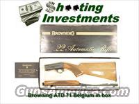 Browning ATD 22 auto Belgium Blond in box!