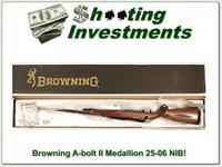 Browning A-bolt II Medallion 25-06 last ones!
