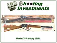 Marlin 39 Century 100-year JM Marked pre-safety 22 in box!