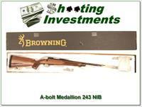 Browning A-bolt II Medallion 243 Win last of the new ones!