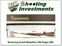 Browning A-bolt II Medallion 204 Ruger last ones!