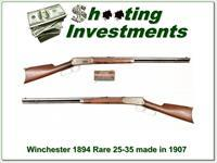 Winchester 1894 25-35 made in 1907!