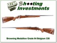 Browning Medallion Grade 1964 Belgium 338 Win Mag Collector
