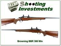 Browning BBR RARE 308 Win, Exc Cond!