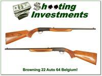 Browning 22 Auto Takedown 64 Belgium Honey Blond!
