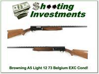 Browning A5 Light 12 73 Belgium 28in VR Mod