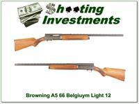 Browning A5 Light 12 66 Belgium 28in Mod VR