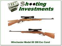 Winchester Model 88 1959 made 308 with period scope