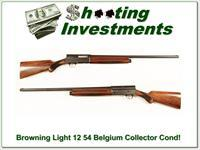 Browning A5 Light 12 54 Belgium Exc Cond!