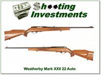 Weatherby Mark XXII 22 Auto early Italian